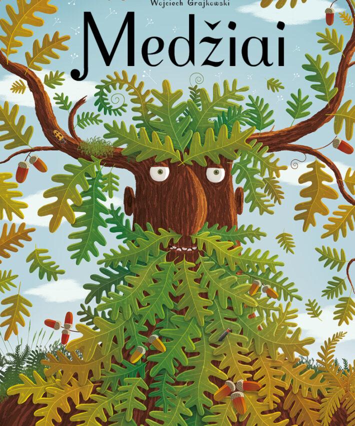 Knyga vaikams Medžiai